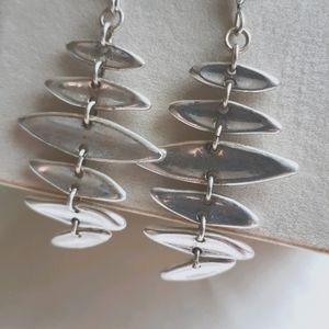 ROBERT LEE MORRIS silver  earrings